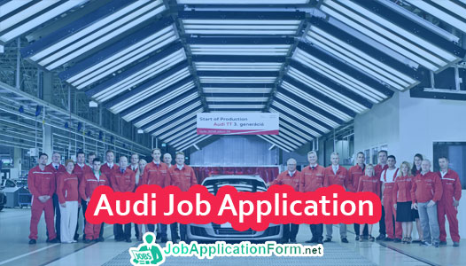 Audi Job Application Form
