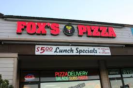 Fox's Pizza Den Application Online & PDF