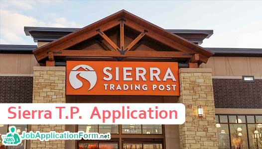 Sierra Trading Post Application Online