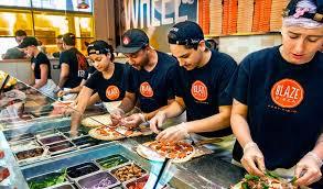 Blaze Pizza Application Online