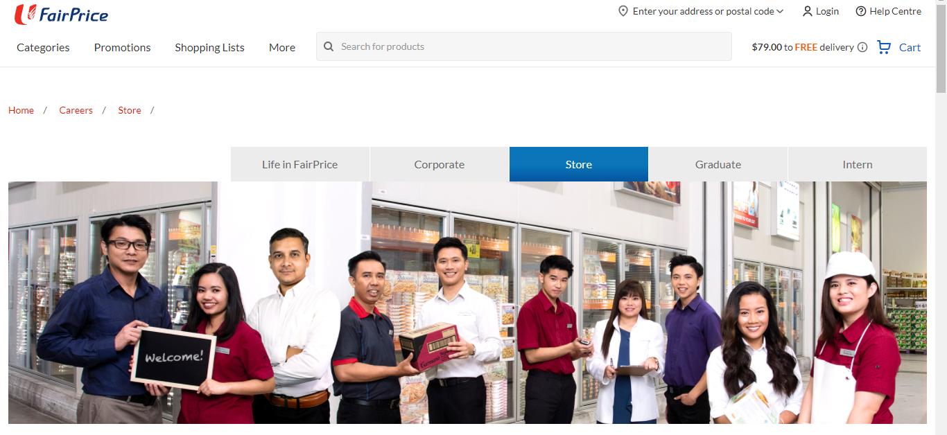 NTUC FairPrice Application Online & PDF