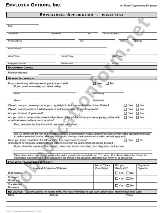 Halloween Club Paper Application Form